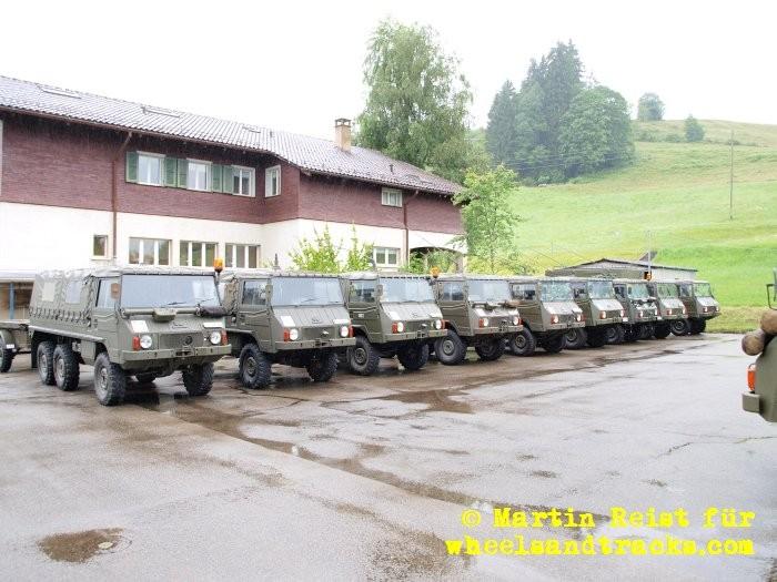 Pinzgauer Treff 2012